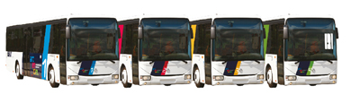 Bus arcenciel s