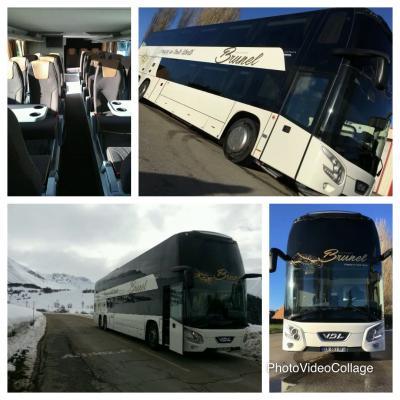 Montage bus double etage