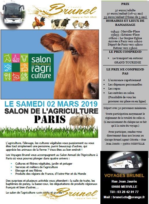Salon agriculture 2019